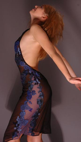 Прозрачные платья - Вечерние платья (красивые платья.