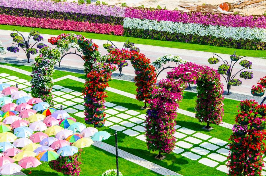 Цветочный сад дизайн