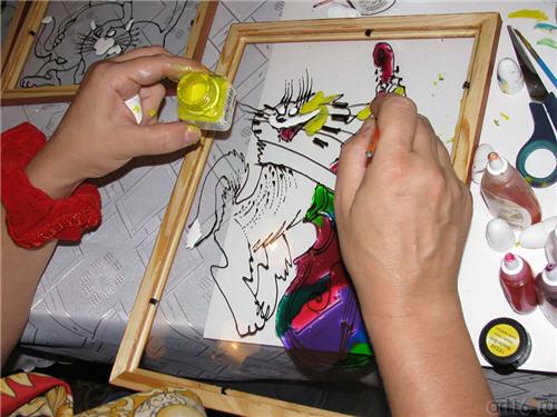 Реферат на тему роспись по стеклу 4837