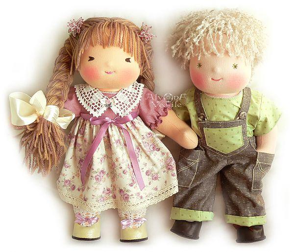 Вальдорфскую куклу своими руками 971